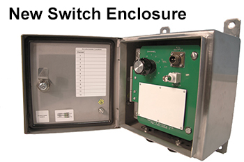 Hinged Switch Enclosure