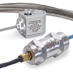 Intrinsically Safe High Temperature Side Entry Accelerometers